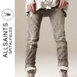 All Saints Spitalfields Woodvale Pipe Skinny Jeans